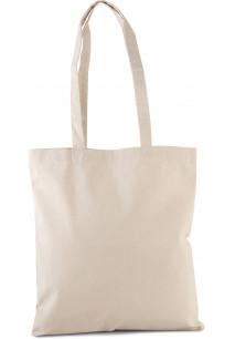 Bolsa de compras clásica de algodón orgánico
