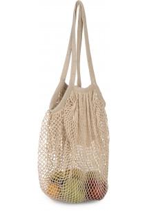 Bolsa para la compra de malla de algodón