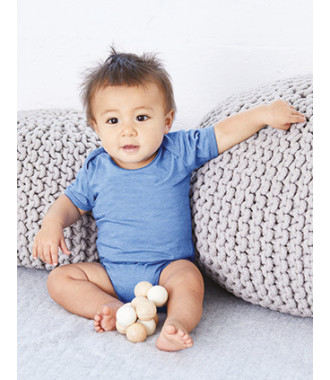 Body bebé manga corta