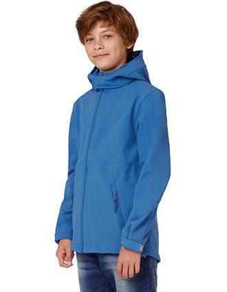 Chaqueta Softshell con capucha niños