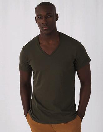 Camiseta Orgánica Inspire cuello de pico hombre