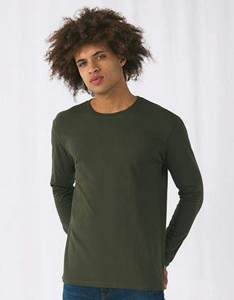 Camiseta #E150 manga larga hombre