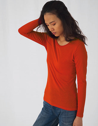 Camiseta orgánica Inspire manga larga mujer
