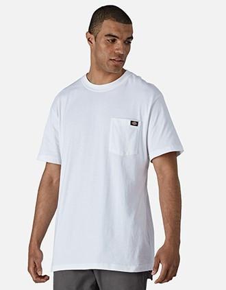 Camiseta con bolsillo LOGO hombre (WS436)