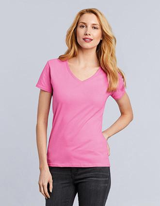 Camiseta Premium cuello de pico mujer