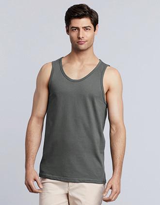 Camiseta Softstyle sin mangas hombre