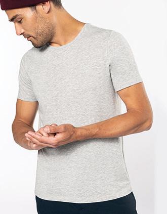 Camiseta con elastán hombre