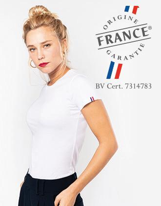 "Camiseta Bio mujer ""Origine France Garantie"""