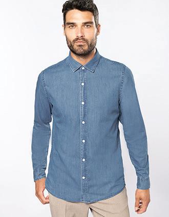 Camisa Denim hombre
