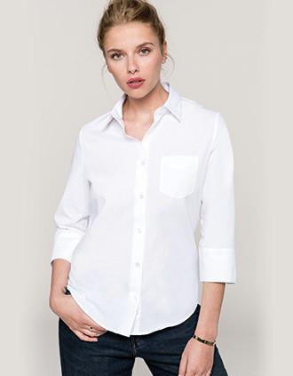 Camisa manga 3/4 mujer