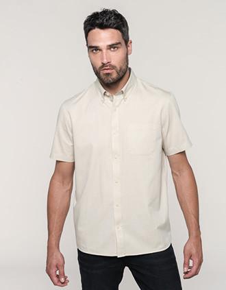 Camisa de algodón Ariana III de manga corta hombre