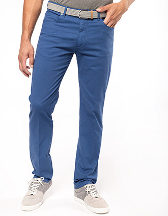 Pantalones de 5 bolsillos para hombre