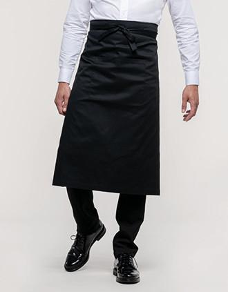 Delantal extra-largo poliéster/algodón