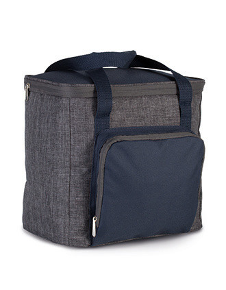 Bolsa isotérmica con bolsillo con cremallera