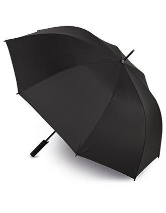 Paraguas con asa personalizable mediante doming