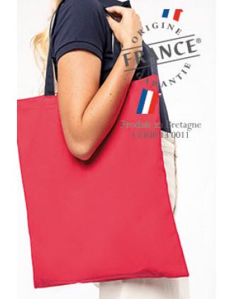 Bolsa de compras tricolor