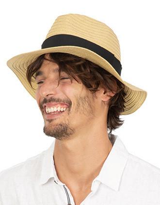 Sombrero de paja clásico