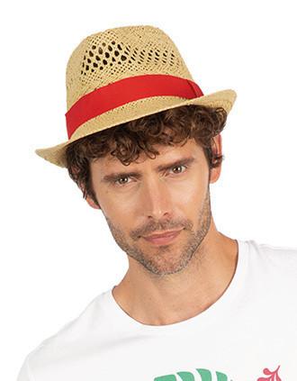 Sombrero de paja estilo Panamá