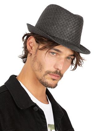 Sombrero de paja estilo Panamá retro