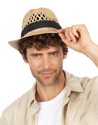 Sombrero Panamá trenzado