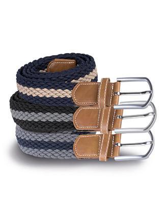 Cinturón trenzado elástico