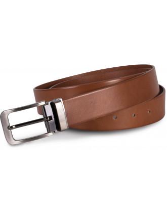 Cinturón  clásico de cuero - 35 mm
