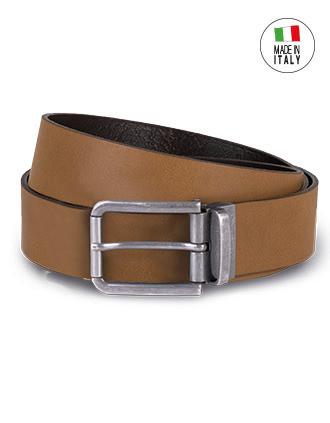 Cinturón bordes raw - 35 mm