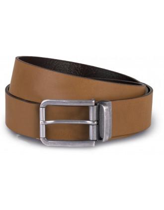 Cinturón  de cuero casual - 35 mm