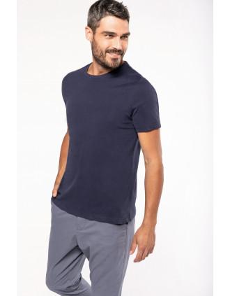 Camiseta vintage manga corta hombre