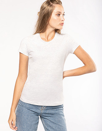 Camiseta vintage manga corta mujer