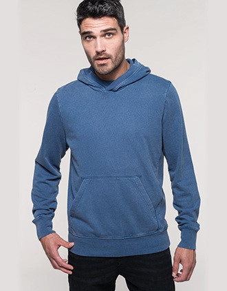Sudadera con capucha french terry