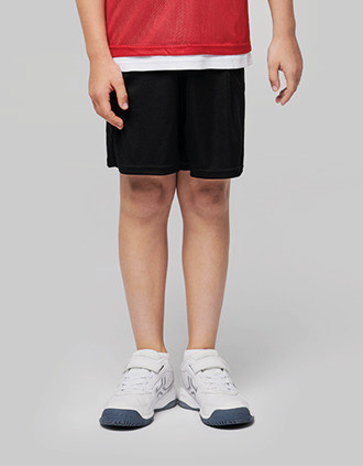 Peto ligero de rejilla multi-deportes para niños
