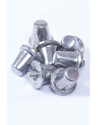 Pack de 100 tacos cónicos de aluminio