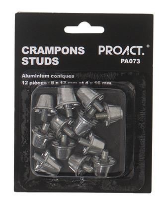 Caja de 12 tacos cónicos de aluminio