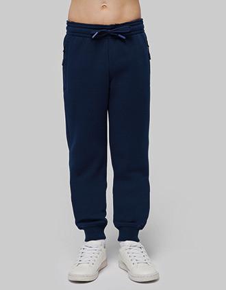 Pantalón de chandal de jogging con bolsillos multi-deporte para niños