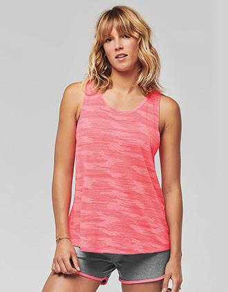 Camiseta tirantes de deporte mujer