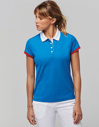Polo piqué performance mujer
