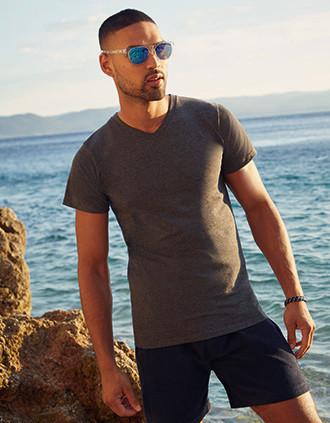 Camiseta Valueweight cuello de pico hombre (61-066-0)