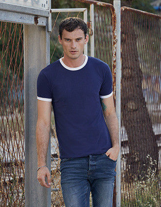 Camiseta Ringer Valueweight