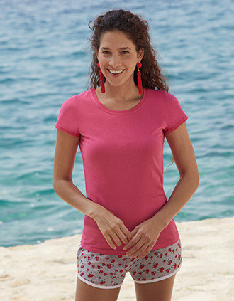 Camiseta Original-T mujer (Full Cut 61-420-0)