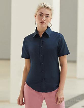 Camisa Oxford manga corta mujer (65-000-0)