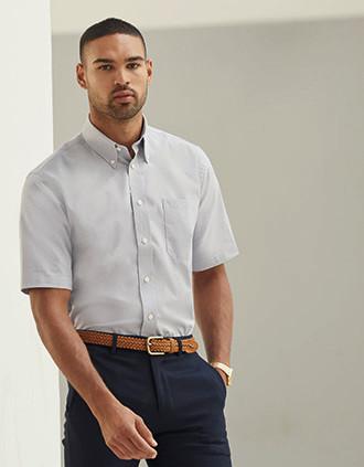 Camisa Oxford manga corta hombre (65-112-0)
