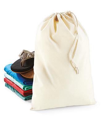 Bolsa algodón con cordones