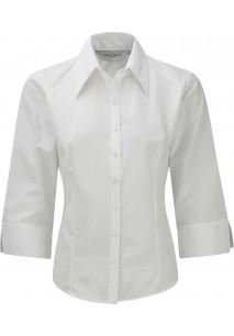 Camisa Tencel mangas 3/4 mujer