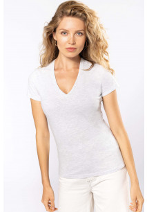 Camiseta BIO150 cuello de pico mujer