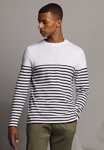 Camiseta Breton manga larga