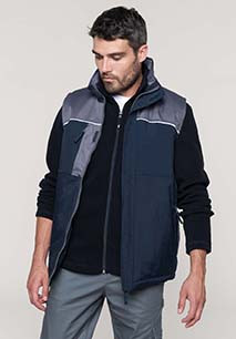 Chaleco workwear acolchado