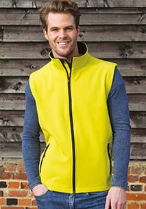 Chaleco Softshell Printable hombre