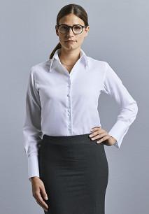 Camisa Non-Iron manga larga mujer