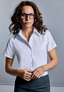 Camisa Non-Iron manga corta mujer